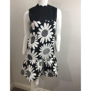 VICTORIA BECKHAM TARGET XS Dress Black, White